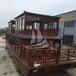 供应厂家直销双层观光游船电动船画舫木船餐饮船