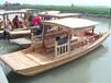 供应厂家直销景区单篷船旅游船休闲船手划船观光船