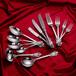 不锈钢304材质亮光银色多件套礼品餐具套装
