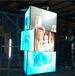 商业地产新广告媒体旋转led显示屏led三棱柱魔方屏高铁站机场案例