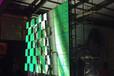 洪海马来西亚出口P10多米诺凹凸显示屏会跳舞显示屏案例
