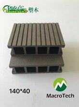 木塑厂东森游戏主管直销外木塑东森游戏主管心地板优质环保建材木塑材料图片