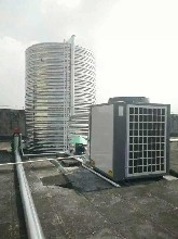 厂家供应河北空气能热泵采暖地暖热水煤改电机组