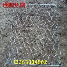 石笼网多少钱?世鹏丝网厂家生产直销石笼网格宾网防止坡体滑脱