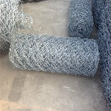 边坡防护网河道河岸固土石笼网箱好、格宾网使用寿命长防腐蚀性强