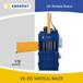 高效率吨袋液压打包机,性能稳定