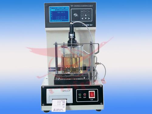 专业沥青检测仪器RP-2806G全自动石油沥青软化点试验仪沥青软化点仪