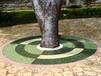 西安优质生态透水树池、景观园林环保型透水透气树池