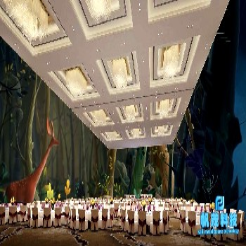 山西天津3D全息投影全息智慧餐厅系统解决方案