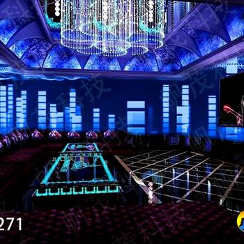 北京天津3D全息投影沉浸式全KTV主题设计打造美轮美奂的视觉效果