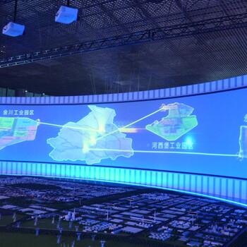 多台投影拼接融合画面一键操作——专业技术找帆茂科技