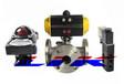 进口气动三通球阀进口十大阀门品牌德国莱克LIK品牌