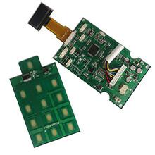 全自动指纹密码锁方案红外感应上锁全自动指纹锁电路板图片
