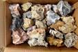 数十吨各类戈壁石--风凌石箱货批发