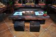 古船木家具推荐五星家具厂直销古船木家具茶桌餐桌办公桌