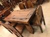 买家具不二之选,到五星船木家具优势厂家直销老船木茶桌餐桌办公桌沙发