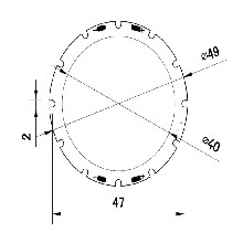 22W筒灯COB光源小功率集成封装光效高导热快发光均匀质保两年图片