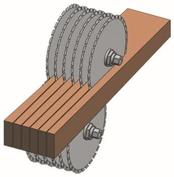 貴州多片鋸鋸片廠家供應木工多片鋸鋸鋸片