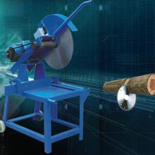 半自动断料锯上举式原木断料锯厂家供应图片