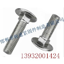 马车螺栓,马车螺丝,圆头方颈螺丝图片