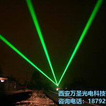 太原20W地標激光燈安裝完成_點亮某高校_地標激光燈_萬圣激光燈