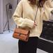 女包新款2019韓版時尚小香風包菱格鏈條包單肩斜挎包百搭小包女包