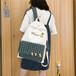 廠家直銷可愛大容量書包女ins韓版大學生背包高中森系古著雙肩包