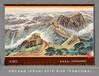 国画山水画万里长城手绘艺术挂毯办公室会议室客厅吸音装饰壁毯画