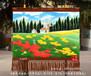 订制风景画草原风光图手绘艺术挂毯餐厅客厅装饰画新疆内蒙风格壁毯