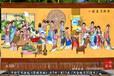 订制家居客厅装饰品壁毯中国画琴棋书画图手绘艺术挂毯地毯装饰画礼品