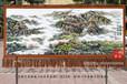 满江红山水画山为翠浪涌手绘艺术挂毯客厅会议室装饰壁毯商务礼品