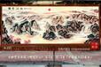 訂做辦公室會議室客廳吸音材質裝飾壁毯畫國畫江山多嬌圖手繪藝術掛毯高檔商務禮品