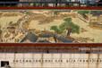 客厅书房会议室礼品中国古典名画清明上河图手绘艺术挂毯装饰壁毯