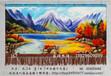 订制欧式油画风景画室内客厅家居装饰品壁毯手绘艺术挂毯乔迁庆典礼品