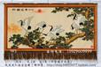 订做中国画松鹤延年图手绘艺术挂毯家居客厅装饰壁毯生日贺寿礼品