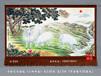 三阳开泰吉祥寓意中国山水画精品欣赏图片风水好的客厅挂画手绘挂毯
