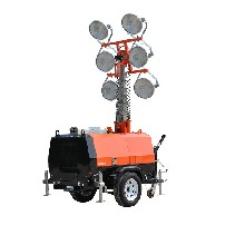 路得威球形灯照明车供应商,西藏RWZM照明车灯塔图片