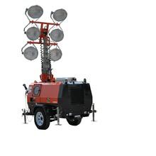 路得威球形灯照明车供应商,四川拖车式照明车报价图片