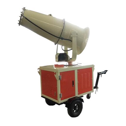路面噴霧降塵機設計合理,除塵霧炮機價格