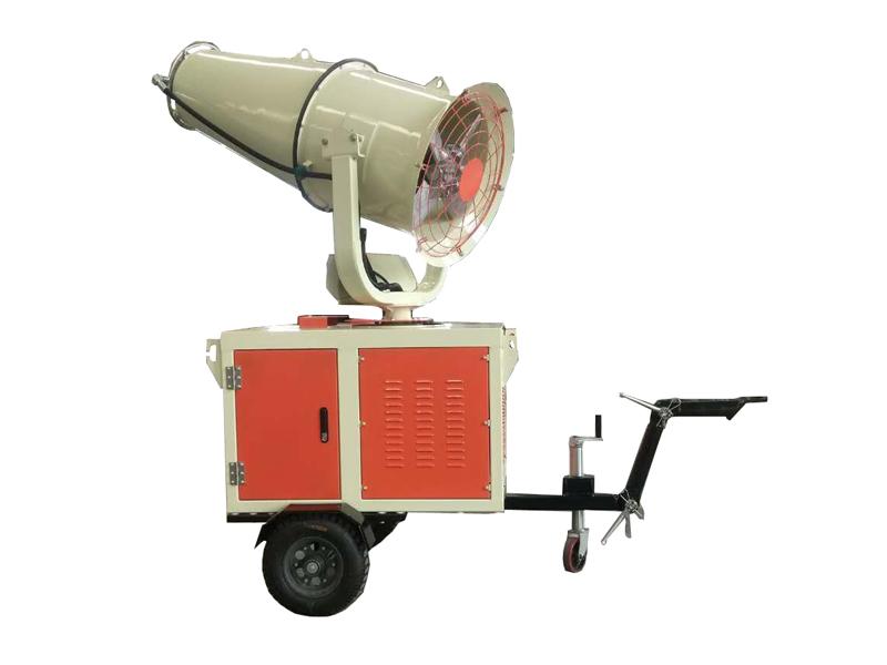 陕西风送式喷雾降尘机,除尘雾炮机价格