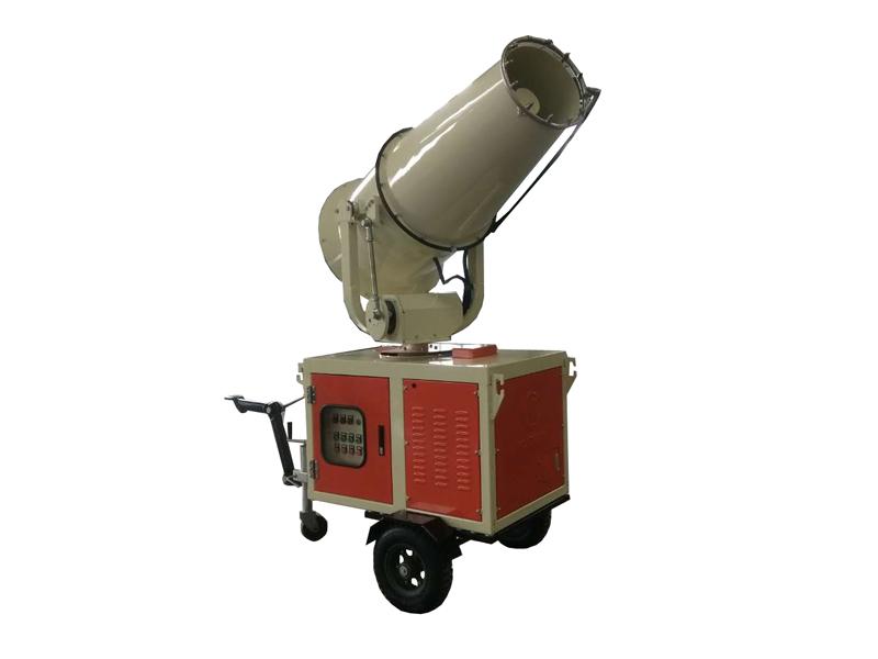 全新喷雾降尘机操作简单,高压降尘喷雾机