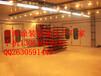 蓝海生产厂家直销环保汽车烤漆房无泵水幕汽车烤漆房光氧催化处理设备