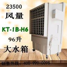 KT-1B-H6移動濕簾冷風機降溫原理圖片