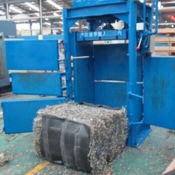 文邦60吨立式液压矿泉水瓶回收压缩打包机