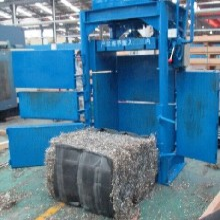供应莆田80吨废铁屑回收压缩打包机