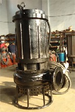 大口径潜水沙浆泵不堵塞潜水抽泥泵质优价廉图片