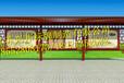 六安社区宣传栏灯箱、公交站台