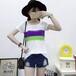哪里批发服装最便宜广东夏装短袖T恤批发夏装女装上衣T恤批发