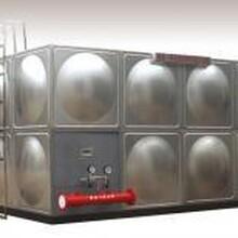 商丘伟邦不锈钢消防水箱组合水箱