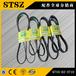 宁夏吴忠有卖小松PC450-8挖掘机SAA6D125发动机风扇皮带的要的去山特松正6743-61-3710